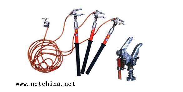 室内螺旋调角式携带型短路接地线(10kv以下)